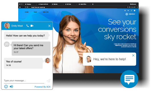 chat 3cx
